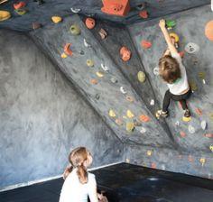 Garage Climbing Wall | Atomik Climbing Holds