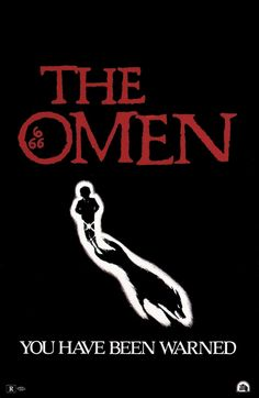 """A chilling suspense mystery, this riveting tale of the supernatural explores the Biblical prophecy of the warning which will foretell the coming of Armageddon. The final confrontation between the forces of good and evil will begin with the birth of the son of Satan, in human form."" Find THE OMEN in our catalog: http://highlandpark.bibliocommons.com/item/show/1236894035_the_omen"