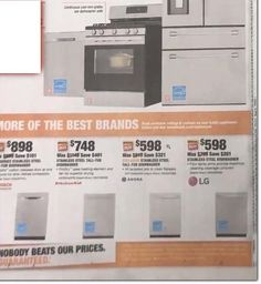 Home Depot Black Friday Ad Scan, Deals and Sales 2019 The Home Depot 2019 Black Friday ad is here! Black Friday News, Black Friday 2019, Home Depot Coupons, Stainless Steel Dishwasher, Printable Coupons, Crates, Ads, Shipping Crates, Drawers