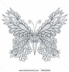butterfly coloring pages | How to Draw Paisley - Bing Images | Paisley