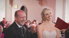 White Balloon Films / Church Wedding / Roxburgh Wedding / Wedding Videographer Scotland / Bride & Groom / Ceremony