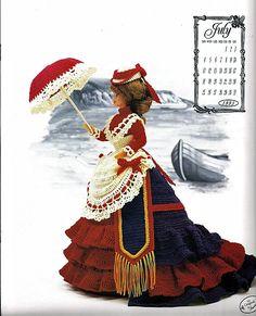 The Victorian Lady Centennial Collection Miss door grammysyarngarden