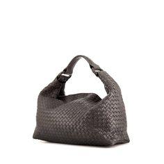 b93f9859633 Bottega Veneta Sloane handbag in brown braided leather