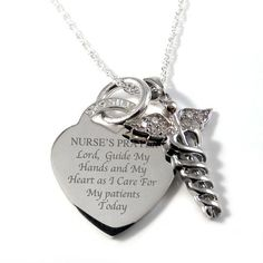 Nurses Prayer necklace!