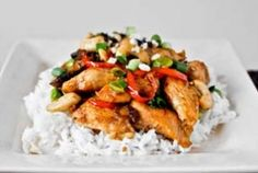 Healthy Cashew Chicken Recipe