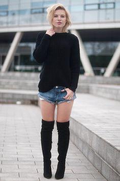 Um amor por blusões de tricô e sua versatilidade!