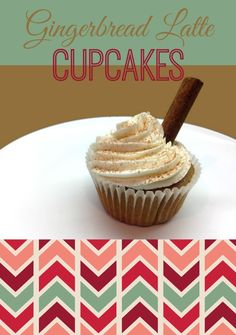 Just Because. Gingerbread Latte Cupcakes. An Epic Giveaway. | Chaos & Love