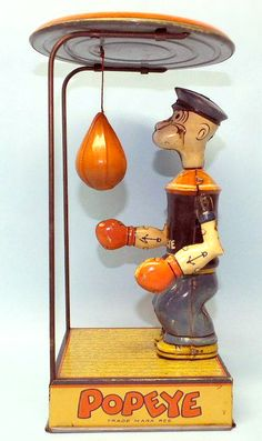 Popeye Tin Toy
