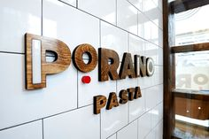 Gerard Craft's Porano Pasta sets a new tone for fast casual dining in St. Louis. Atomicdust's branding, identity and design work for the long-awaited resta