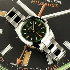 #Milgauss 116400GV by #Rolex now available at the #WatchCentre