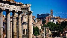 The Roman Forum: The Roman Forum and Colosseum