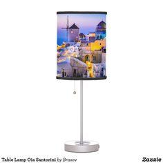 Shop Table Lamp Oia Santorini created by Brasov.