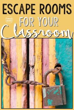 Escape room games are perfect for any elementary classroom. Students try and escape a risky situation in a specified amount of time. My Cracking the Classroom Code games are available for kindergarten, first grade, second grade, third grade, fourth grade, and fifth grade. Math and language arts escape games are available. {K, 1st, 2nd, 3rd, 4th, 5th graders - FREE download, freebie}