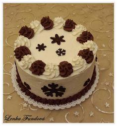 Harlekýn Cream Cake, Desserts, Food, Sweets, Deserts, Custard Cake, Tailgate Desserts, Cream Pie, Essen