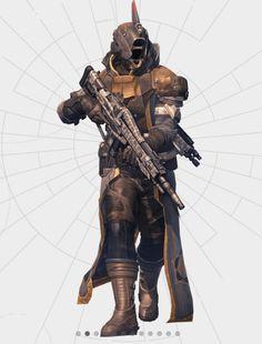 Customizable Warlock Armor
