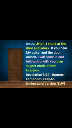 Revelation 3:20 2 Samuel 5, 2 Timothy 4, Hymns Of Praise, Ecclesiastes 12, Revelation 3, People Can Change, 2 Peter, Marriage Vows, How Many Kids