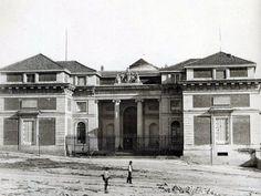 Museo del Prado, puerta de Felipe IV (1878)