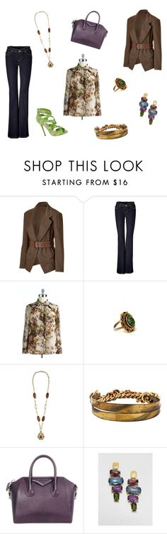"""Untitled #171"" by joshua-d-tyson ❤ liked on Polyvore featuring Donna Karan, Rachel Zoe, Jones New York, Gerard Yosca, Jimmy Choo, Givenchy and Marco Bicego"