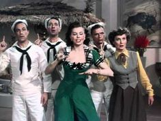 """Prehistoric Man"" from ""On the Town"" (1949) starring Ann Miller, Betty Garrett, Frank Sinatra, Gene Kelly -- my favorite song from the film"