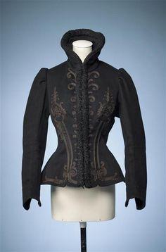 Skating jacket, 1885-95, Gemeentemuseum Den Haag. Via Modemuze.