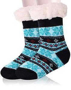 Kids Slippers, Fuzzy Slippers, Slippers For Girls, Girls Socks, Slipper Socks, Striped Gloves, Cabin Socks, Stocking Stuffers For Kids, Winter Socks
