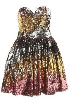 ideal evening dress