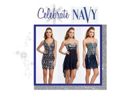 """Celebrate Navy!"" by camillelavie ❤ liked on Polyvore featuring COVERGIRL"
