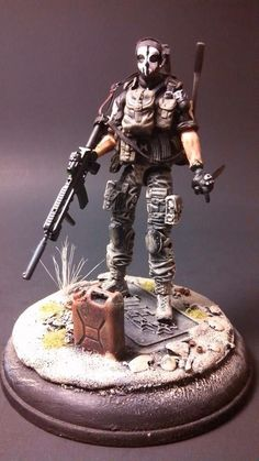 call of duty Ghosts customs Logan walker