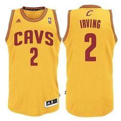 32e19705623 Buy Kyrie Irving Youth Cleveland Cavaliers CAVS Revolution 30 Swingman  Alternate Gold Jersey from Reliable Kyrie Irving Youth Cleveland Cavaliers  CAVS ...