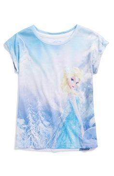 Free shipping and returns on Mighty Fine 'Disney's Frozen - Elsa Flawless' Tee (Toddler Girls, Little Girls & Big Girls) at Nordstrom.com. A snow queen prettily stands in the foreground of a swirling winter wonderland on a supersoft tee.