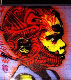 stinkfish street art This is Art, not Mine nor yours, but It deserves to be seen...by everyone...Share it...