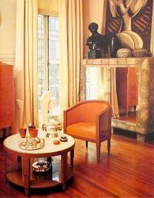 Mondoblogo Eighties Interiors Art Deco Living Room Interior