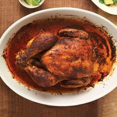 Peruvian Roast Chicken. this recipe has a really good marinade