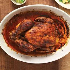 Peruvian Roast Chicken. this recipe has a really good marinade