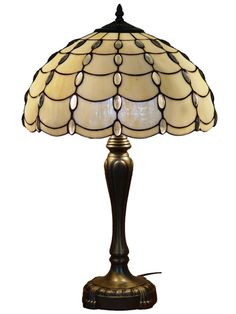 Amora Lighting Tiffany Style Cascades Table Lamp | Overstock.com