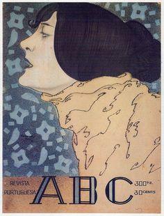 Stuart de Carvalhais : Cover art for ABC magazine, 1920.