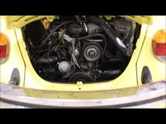 1979 Volkswagen Beetle yellow - YouTube #GRAutoGallery