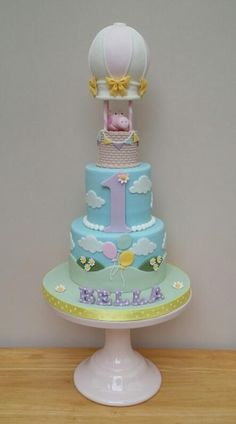 Peppa Pig Balloon Party by The Buttercream Pantry