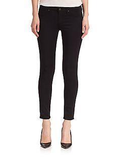 AG Sateen Legging Ankle Jeans
