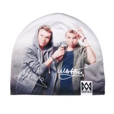 Multi one size beanie Marcus & Martinus Dress Hairstyles, Pretty Wallpapers, White Hoodie, My Idol, Cool Outfits, Bomber Jacket, Cool Stuff, My Love, Celebrities