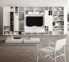 #BookCase #book_case #furniture #interior #design шкаф книжный Pianca Spazioteca, Spazioteca Bookcase