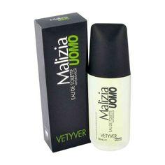 Malizia Vetyver is een fris en elegant herenparfum.