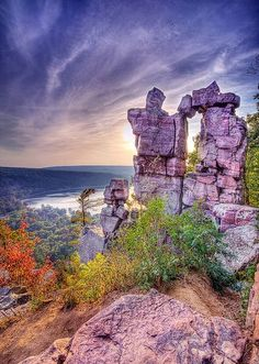 Devil's Lake, Wisconsin