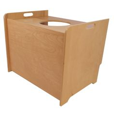 Amazon.com : Top Entry Litter Box Cover (birch, unfinished) : Pet Supplies
