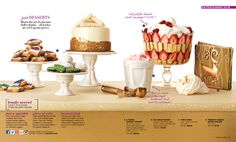 Avon Living Coming in Campaign Cheap Christmas Gifts, Christmas 2015, Christmas Brochure, Avon Brochure, Brochure Online, Piece Of Cakes, Holiday Sales, Kids Gifts, Just Desserts