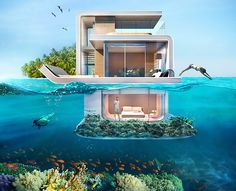 Breathtaking underwater villas let you sleep with the fishes in Dubai
