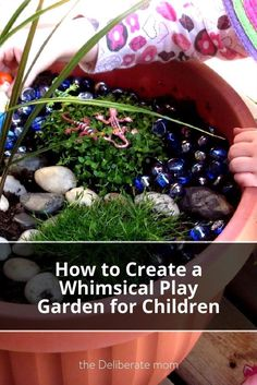 Do you want an original play idea for your kids this summer? Check out these tips to create a fun and whimsical play garden for children (or fairies).