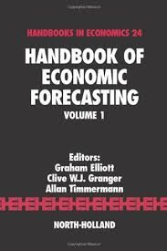Handbook of Economic Forecasting, v.1 (PRINT VERSION)    http://biblioteca.cepal.org/record=b1138592~S0*spi Research on forecasting methods has made important progress over recent years and these developments are brought together in the Handbook of Economic Forecasting. The handbook covers developments in how forecasts are constructed based on multivariate time-series models, dynamic factor models, nonlinear models and combination methods.