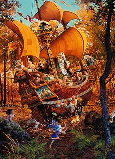 Tales Beyond Timp - James Christensen