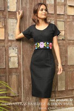 vestidos bordados yucatecos - Buscar con Google